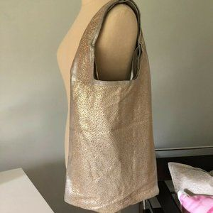 Cynthia Vincent leather hobo purse